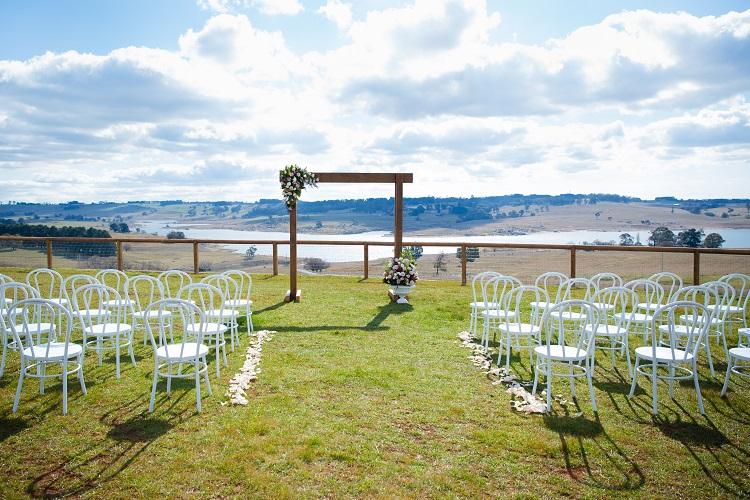 Lake Oberon Resort Ceremony